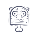 Bone Cat Icon