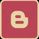 Blogger Social Media Icon