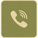 Ringing Telephone Wifi Social Media Icon