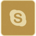Skype Social Media Icon