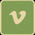 Vimeo Social Media Icon