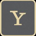 Yahoo Social Media Icon