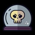 Crystal Skull Icon