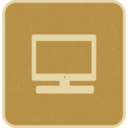Desktop Computer Monitor Screen Icon