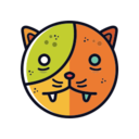 Zombie Cat Icon