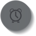 Outline Clock Icon