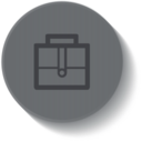 Outline Briefcase Icon