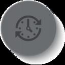 Outline Clock Icon