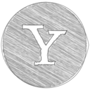Handdrawn Yahoo Icon