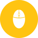 Flat Mouse Icon