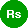Rupee Symbol Icon