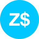 Zimbabwe Dollar Icon