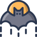 Moonlit Bat Icon