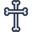 Cross Of Bones Icon
