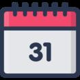 Last Day Calendar Icon