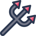 Devil's Pitchfork Icon