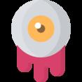 Gooey Eyeball Icon