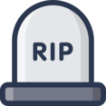 RIP Tombstone Icon