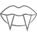 Vampire Teeth Icon