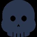 Scary Skull Icon