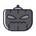 Angry Pumpkin Icon