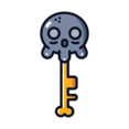 Skeleton Key Icon