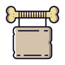 Bone Sign Icon