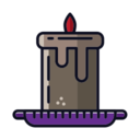 Large Candle Icon