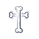 Cross Bone Icon