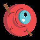 Scary Eye Icon