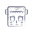 Frankenstein Head Icon