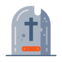 Tall Gravestone Icon
