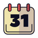 Halloween Calendar Icon