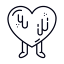 Candy Heart Icon