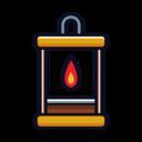 Wide Lantern Icon