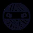 Round Mummy Head Icon