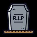 RIP Headstone Icon