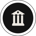 Flat Bank Icon