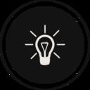 Flat Idea Icon