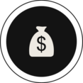 Flat Money Icon