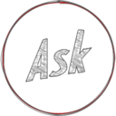 Handdrawn Ask Icon