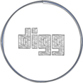 Handdrawn Digg Icon