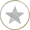Handdrawn Star Icon