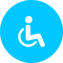 Flat Handicap Icon