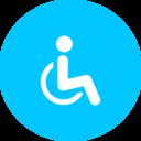 Flat Handicap Icon