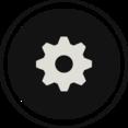 Flat Gear Icon