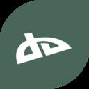 Flat DeviantArt Icon