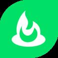 Flat FeedBurner Icon