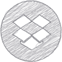 Handdrawn Dropbox Icon