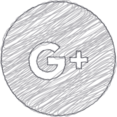 Handdrawn Google Plus Icon